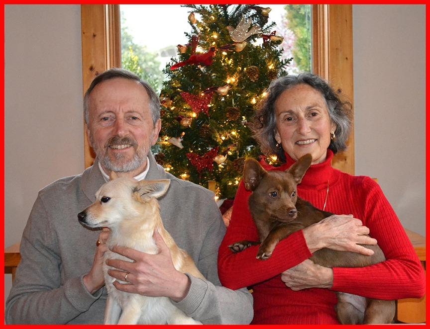 Rick & Irene Archer & Dogs
